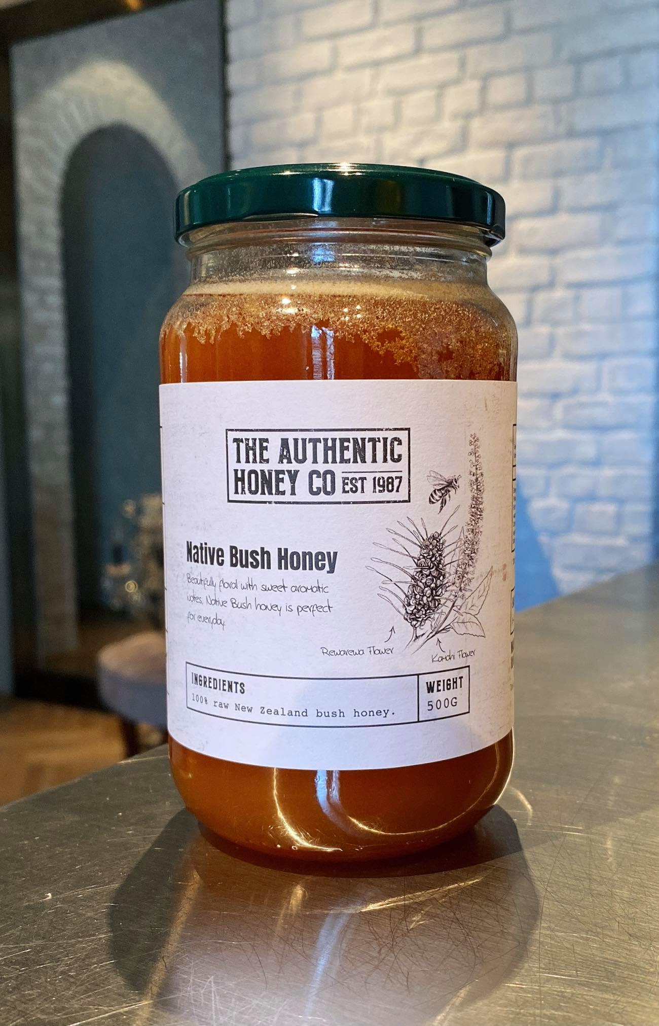 NZ Native Honey 500g