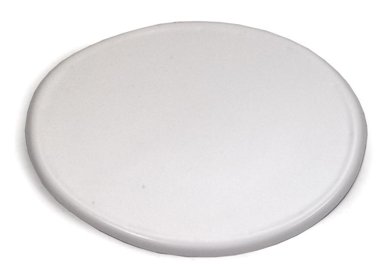ユニバーサル ミニ オーバルナンバープレート(ホワイト)