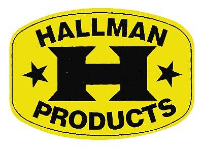 Hallman デカール(イエロー)
