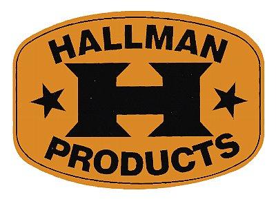 Hallman デカール(ゴールド)