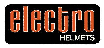 Electro Helmet Rectangle デカール