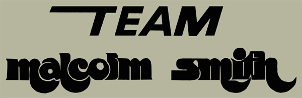 TEAM Malcolm Smith Die Cut デカール