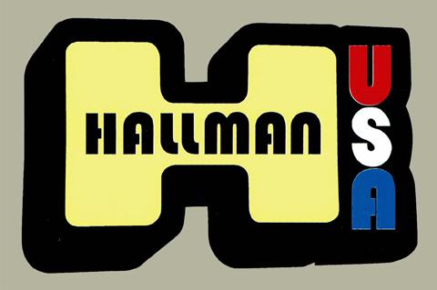 Hallman USA H デカール