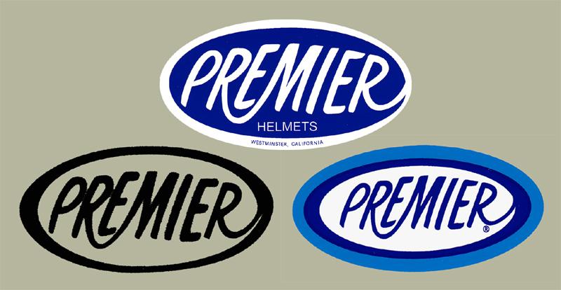 Premier Helmet デカールキット(3pcs)