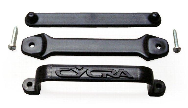 CYCRA フロントゼッケンケーブルガイド(黒)