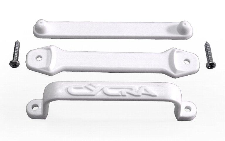 CYCRA フロントゼッケンケーブルガイド(白)