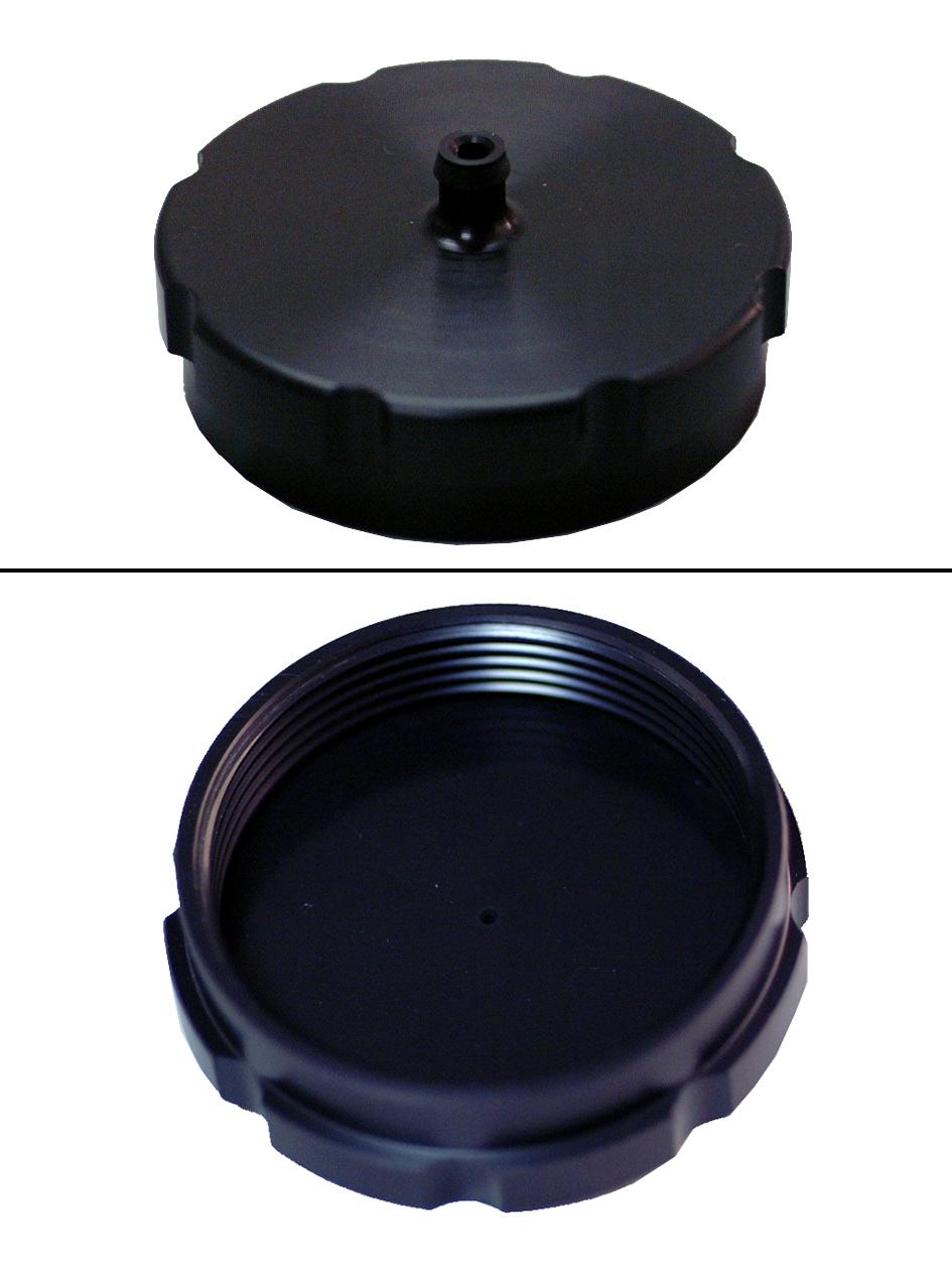 1977-78 KX タンクキャップ(黒)☆1977-78 KX tank cap(black)