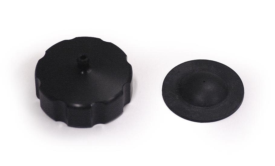 1978-79 CR250R 1979 CR125R タンクキャップ(黒)☆1978-79 CR250R 1979 CR125R Tank cap (black)