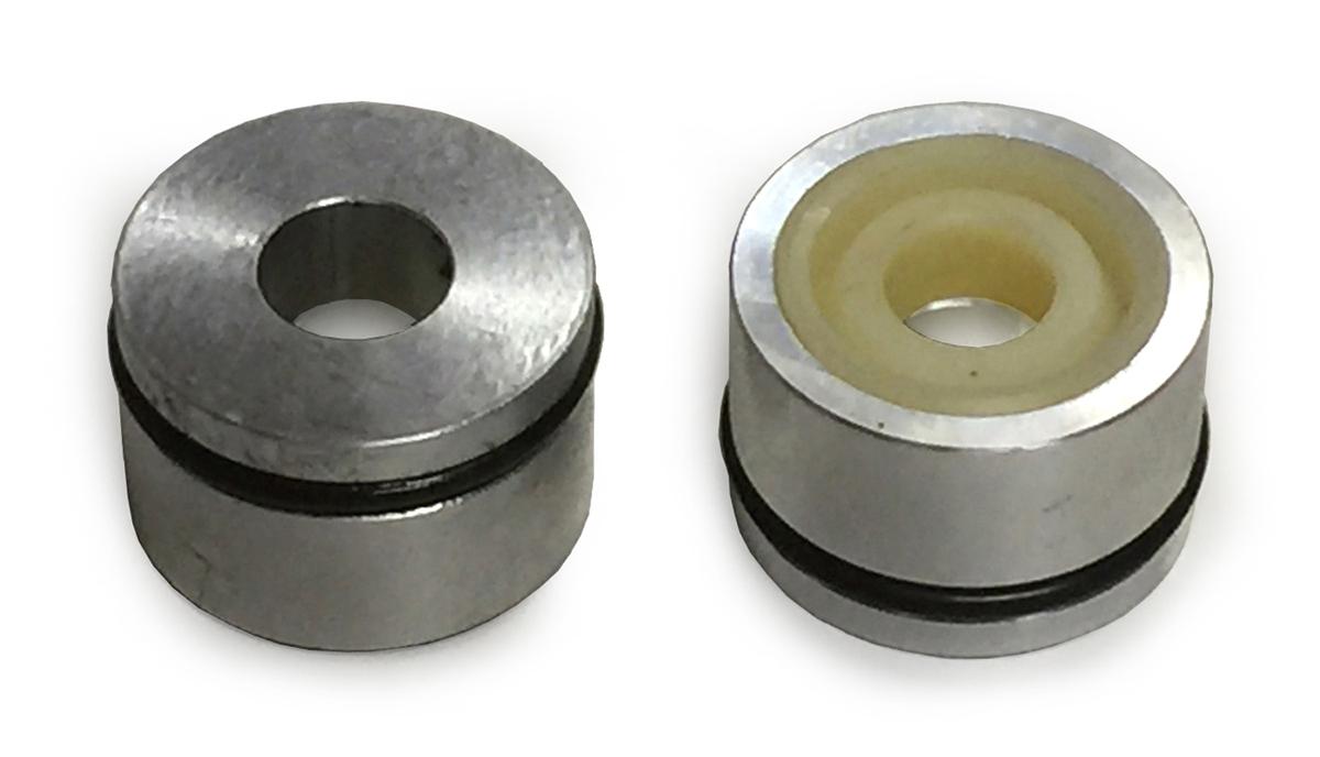 1974-75 エルシノア フィン付アルミボディショック用シールケースキット(10mmロッド)☆Seal case kit for Elsinore finned aluminum shock 10mm rod
