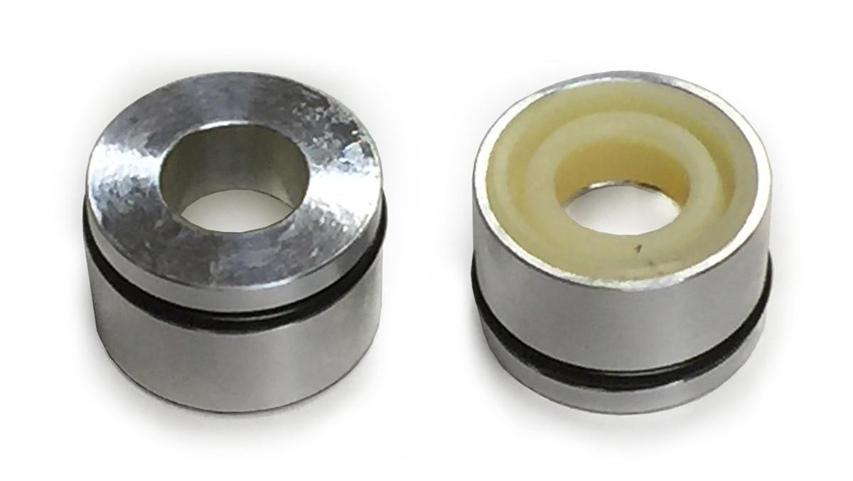 1974-75 エルシノア フィン付アルミボディショック用シールケースキット(12.5mmロッド)☆Seal case kit for Elsinore finned aluminum shock 12.5mm rod