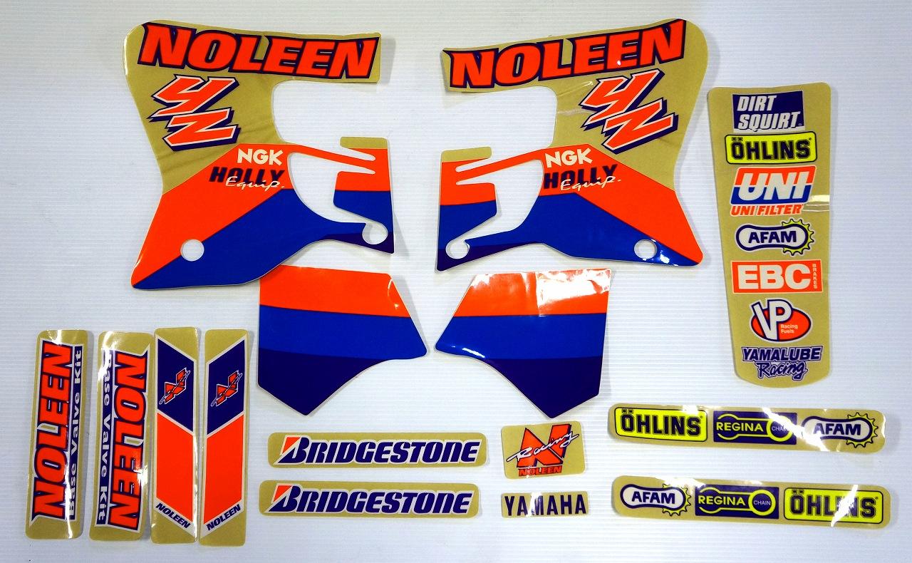 NOLEEN 1993-95 YZ125/250 '94 デカールキット☆NOLEEN 1993-95 YZ125/250 '94 Decal kit