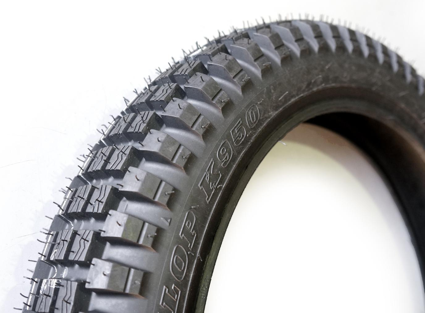 ダンロップ トレールタイヤ K950 3.50-18 4PR リア