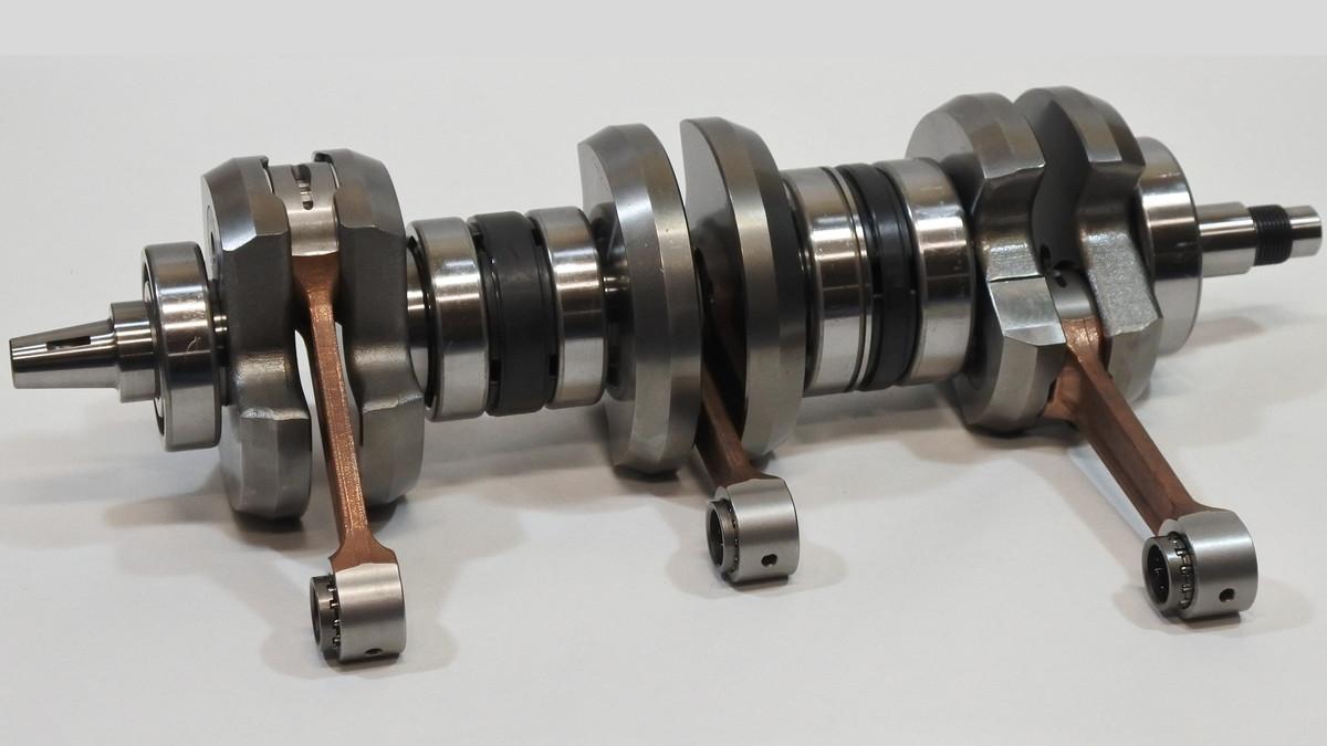 1972-75 H2-750 クランクシャフト STD 16mm Wrist Pin