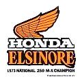 Honda CR250 73 MX Champ デカール