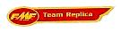 FMF Team レプリカデカール(PR)