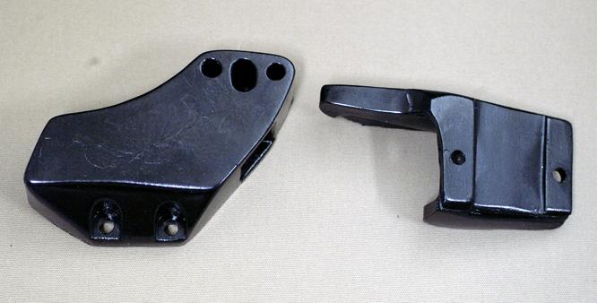 1980-81 YZ125 1980-81 IT175 チェーンスライダーセット(黒)