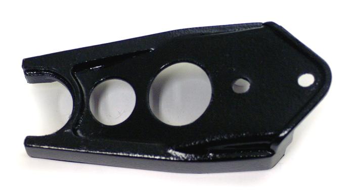 1985 YZ125/250 1984-85 YZ490 1984-86 IT200 フロントチェーンスライダー(黒)