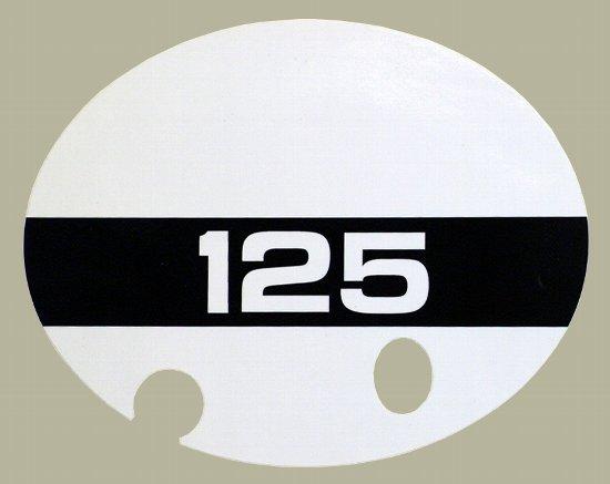1973-74 TM125 サイドパネルデカールセット