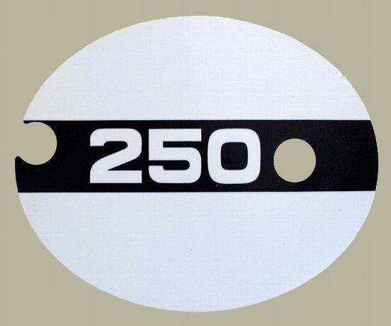 1974 TM250 サイドパネルデカールセット