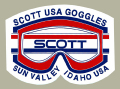 Scott Goggle Sun Valley デカール
