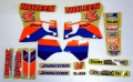 NOLEEN 1993-95 YZ125/250 '94 デカールキット☆NOLEEN 1993-95 YZ125/250 '94 Decal kit