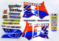 NOLEEN 1993-95 YZ125/250 '95 デカールキット☆NOLEEN 1993-95 YZ125/250 '95 Decal kit