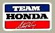 Team Hondaデカール(Steve Wise)