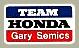 Team Honda デカール(Gary Semics)