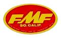 FMF Oval デカール(レッドベース)(ラージ)