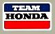 Team Honda デカール(スモール)