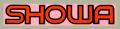 SHOWA フォークデカール(ミディアム/ピンクベース)
