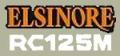 Honda RC125M Works Elsinoreサイドパネルデカール(PR)