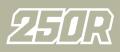 1987 Honda XR250R シートステンシル