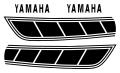1977 YZ80 タンクデカールセット(4pcs)