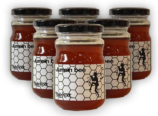 松の樹液の甘露蜂蜜 Jumpin bee 6個セット