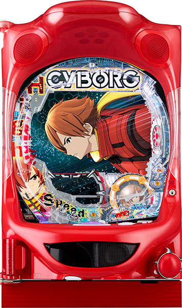 P CYBORG 009 CALL OF JUSTICE HI-SPEED EDITION M2-V
