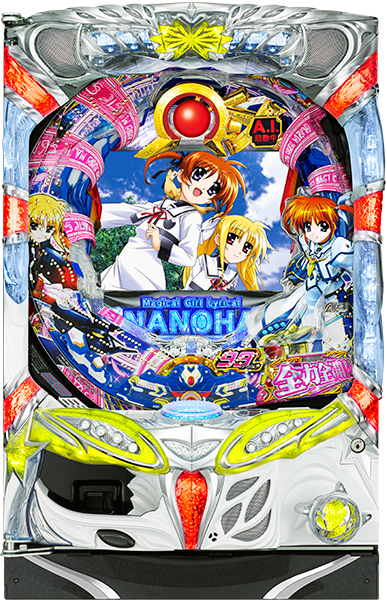 SANYO CR魔法少女リリカルなのは99バージョン 中古パチンコ実機