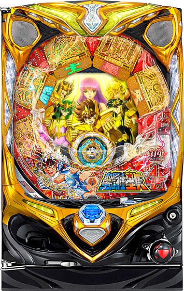 "SANYO CR聖闘士星矢4 The Battle of""限界突破"" 中古パチンコ実機"