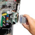 玉貸・返却・ハンドル・セグの検品がこれ1つで。パチンコ枠の検品に便利なツール CRアダプターMCRT1チェッカー