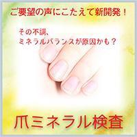 爪ミネラル検査|レメディ.com ホメオパシージャパン正規販売店