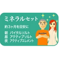 ミネラルセット|レメディ.com ホメオパシージャパン正規販売店