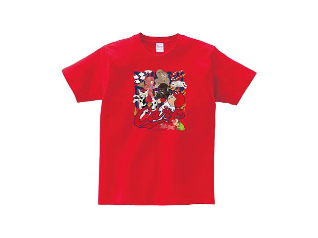 【勝ちグセ。】三次もののけ CARP Tシャツ