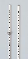 ランプ ステンレス鋼製棚柱 SPS-1820
