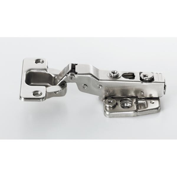 スガツネ工業 LAMP ワンタッチスライド丁番 151-D26/10T 10mm 半カブセ ダンパー機能付
