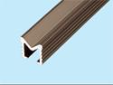 アルミ製 V型レール 12×12mm ブロンズ
