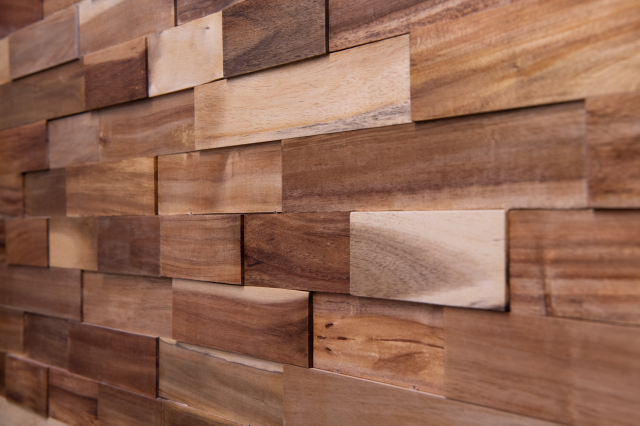ラスティックパネル 天然木壁材 アカシア 18枚入り/0.5坪【送料無料】