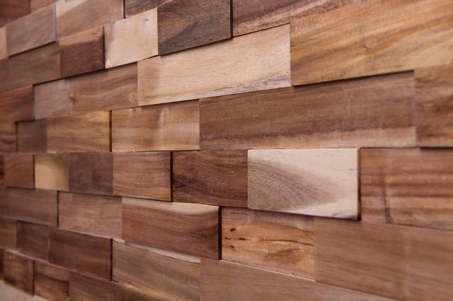 ラスティックパネル 天然木壁材 アカシア 1枚単位