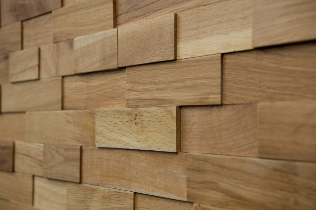 ラスティックパネル 天然木壁材 オーク 1枚単位