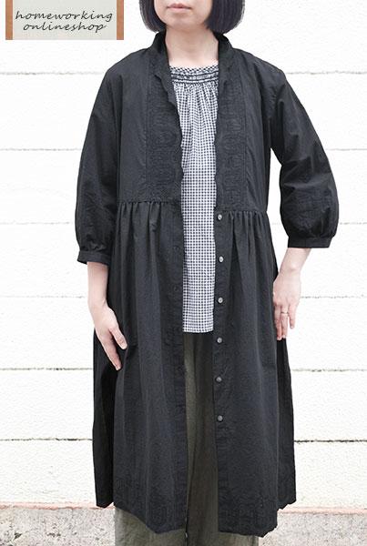 【送料無料】カットワークレース ハオリワンピース(全2色)