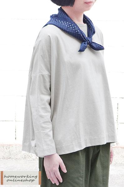 ドットスカーフ(ネイビー)【2点までメール便可】
